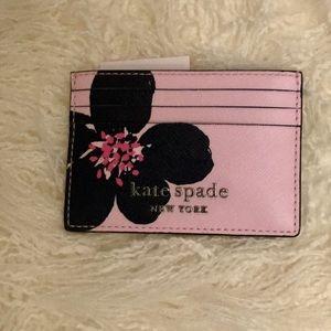Kate Spade Small Slim Card Holder Wallet